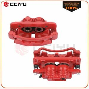 Brake Front Calipers Pair Kit For Ford Mustang 1999 2000 2001 2002 Base Gt