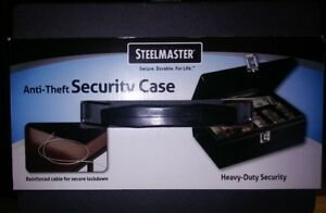 New In Box Steelmaster Mmf Industries Steel Cash Box W Security Cable 221613004