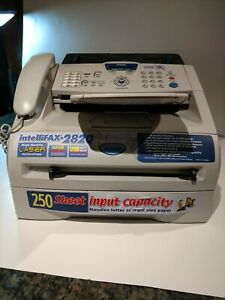 Brother Intellifax 2820 Manual Laser Fax Machine Printer Copier Works See Test