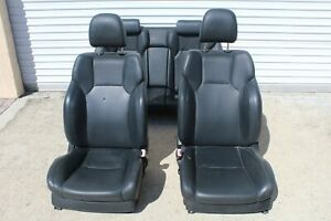 2008 2009 2010 Lexus Is F Isf Interior Seats Leather Sport Bucket Blue Stitching