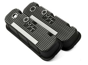 Holley 241 85 Valve Covers M t Mickey Thompson Big Block Chevy Bbc 454 396