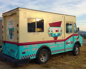 Used 19 Chevy G20 Mobile Ice Cream Business In Great Working Condition For Sale