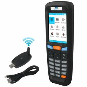 Wireless Barcode Scanner 1d Data Collector Portable Terminal Inventory Device W