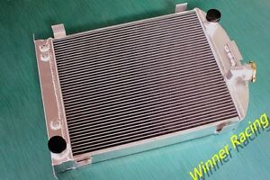 70mm Radiator For 1932 Ford Truck With Chevy 350 V8 Engine Up To 1000hp