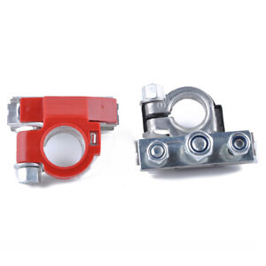 Heavy Duty Copper Battery Top Post Wire Cable Terminal Lugs Clamps Connectors