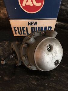 1958 Late 1962 Corvette Only Ac Delco 4656 Fuel Pump Original Real Deal