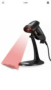 Esky Usb Automatic Barcode Scanner Scanning Reader Wired Handheld handfree Stand