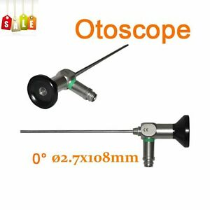 Endoscope Otoscope 2 7x108mm Connector Fit For Storz stryker olympus wolf 0 A