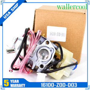 New 16100 z0d d03 Carburetor Carb For Hd Eu2000i Eu2000 Home Power Generator