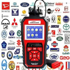 Kw850 Professional Obd Obd2 Car Auto Diagnostic Scanner Car Oem Diagnostic Tool