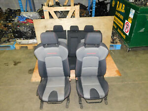 Jdm 2007 08 09 Mazdaspeed Ms3 Axela Turbo Oem Front Rear Seats Red Stitched