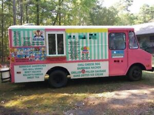 Remodeled Gmc Ice Cream Truck Food Truck For Sale In Georgia Runs Fine New Mo