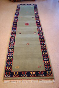 Approx 5 10 Years Old Hand Woven Gabbeh Runner Rug 2 10x11 5 Lowest Prices Here