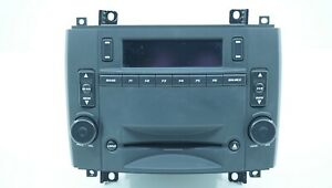 2003 2005 Cadillac Cts Am Fm Radio Receiver 6 Cd Disc Changer Player Switch Oem