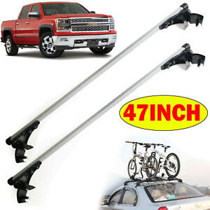 Universal Auto Car Truck Top Luggage Cross Bar Roof Rack Carrier 3 Kinds Clamps