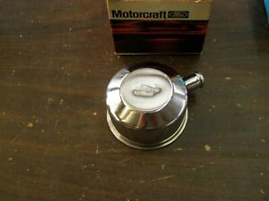 Nos Oem Ford 1965 1966 1967 Mustang Motorcraft Chrome Oil Cap Fomoco