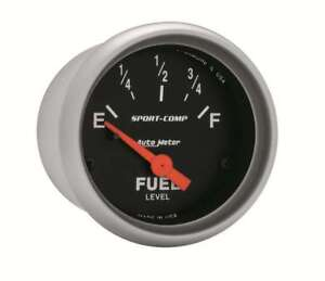Auto Meter 3314 Gauge Fuel Level 2 1 16 0 To 90 Electric Sport comp