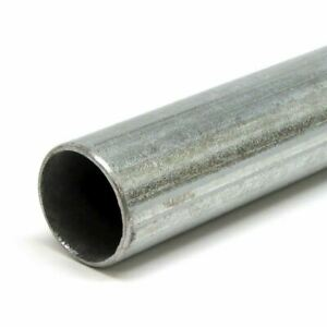Galvanized Steel Round Tube 1 Od X 0 065 Wall X 12 Feet 3 Pieces 48 Inches