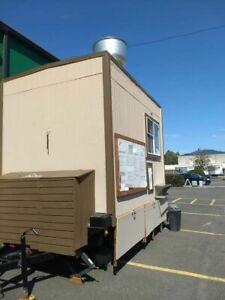 Very Clean And Well kept Food Concession Trailer With Pro Fire Suppression Syste