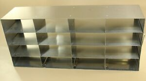 Eleven Cryogenic Stainless Steel Bins 16 Sections Per Bin