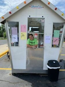 2019 6 X 7 25 Sno Shack Inc Snowball Concession Trailer Shaved Ice Stand For