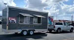 Never Used 2019 Mg Ft187 Food Concession Trailer In Excellent Working Condition