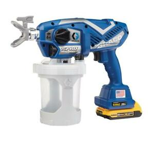 Graco Tc Pro Cordless Airless Paint Sprayer 17n166 W 1 year Graco Warranty