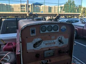 Used Lincoln Arc Welder Sa 200 f 162 Good Condition