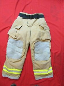 Mfg 2011 Globe Gxtreme 36 X 30 Firefighter Turnout Bunker Pants Fire Rescue