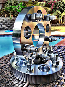 5x4 5 Wheel Spacers 2 5 Inch 1 2 20 Studs Forged Billet 5 Lug 114 3 Adapters