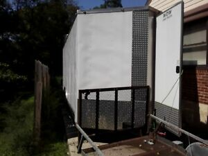 Never Used 2018 8 5 X 24 Wow Cargo Food Concession Trailer Mobile Kitchen Fo