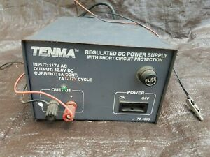 Tenma 72 4000 Vintage Regulated Dc Power Supply