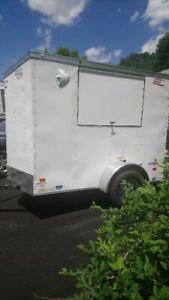 Used Once 2018 5 X 8 All electric American Hauler Food Concession Trailer For