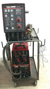 Lincoln Invertec Stt Ii Mig Welder W Lincoln Stt 10 Wire Feeder