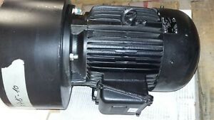 Emod Motor 7568942 277 480v 3535rpm 6hp Ip55 With Squirrel Cage Blower