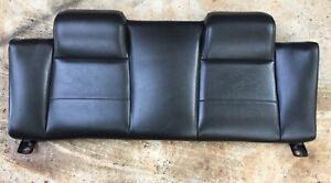 2007 Ford Mustang V6 Convertible Rear Upper Back Seat Cushion Leather
