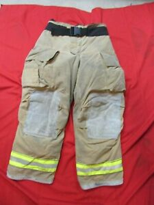 Mfg 2013 Globe Gxtreme 36 X 30 Firefighter Turnout Bunker Pants Fire Rescue