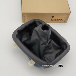 New Nissan Oem Leather Shift Boot Console For S13 180sx 240sx 96935 35f10