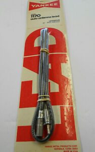 Yankee Vintage Nos 36 Inch Car Truck Am Fm Radio Antenna Cable Extension