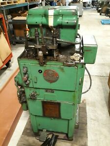 Fellows 3 Fine Pitch Gear Shaper With Change Gears Works Great
