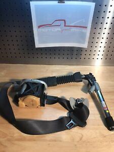 2011 2016 Kia Optima Driver Seat Belt Retractor W Tensioner Black Gray Oem