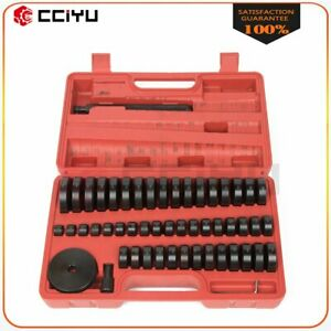 50pcs Bearing Seal Driver Tool Kit Custom Bushing Bearing Hydraulic Press