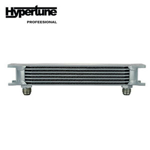 Universal 7 Rows Aluminum Engine Transmission Oil Cooler An 10 Silver