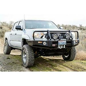Arb 4x4 Accessories Black Toyota Tacoma Delux Bar With Winch Mount 3423140