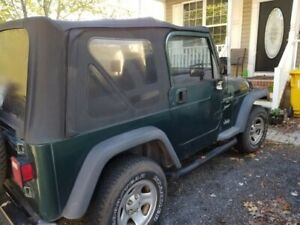 2000 Jeep Wrangler Sport Soft Top With 80k On The Upgraded Engine