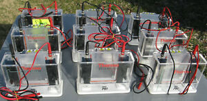 Lot Of 9 Thermo Scientific Owl P81 Single sided Vertical Electrophoresis System