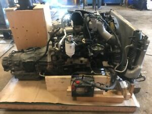 06 07 Chevrolet Gmc Duramax Lbz 6 6 Engine Allison Transmission Swap Patrol 4wd