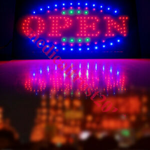 Ultra Bright Led Open Light Business Sign Flash Outdoor Animated Motion Store