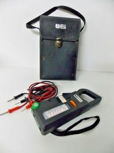 Ohm Meter Vintage Uei Mcp9a A c With Original Hard Case M133434c