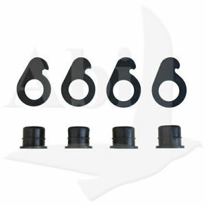 12 Pieces Of 9 Lite Or 5 Lite Cap And Lock For Windshield Truck Rack Auto Glass